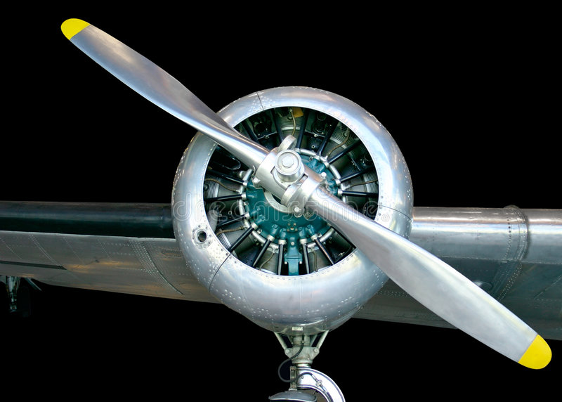 Aircraft Propeller stock photography