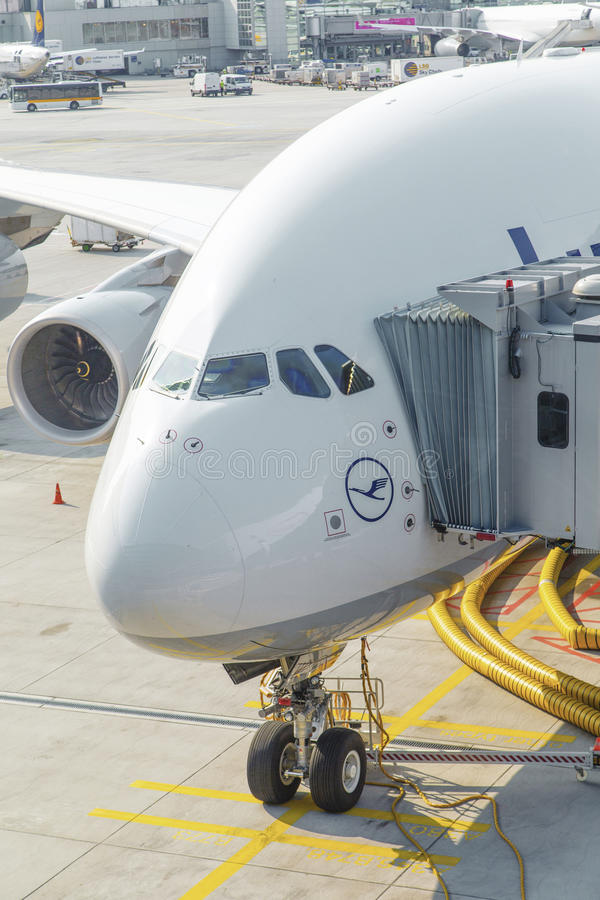 Aircraft Ready For Boarding Editorial Stock Photo