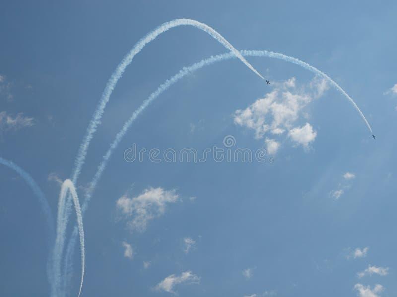 Aircrafts royalty free stock image