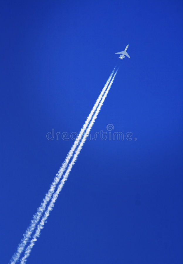 Download Aircraft in the sky stock image. Image of speed, business - 2715527