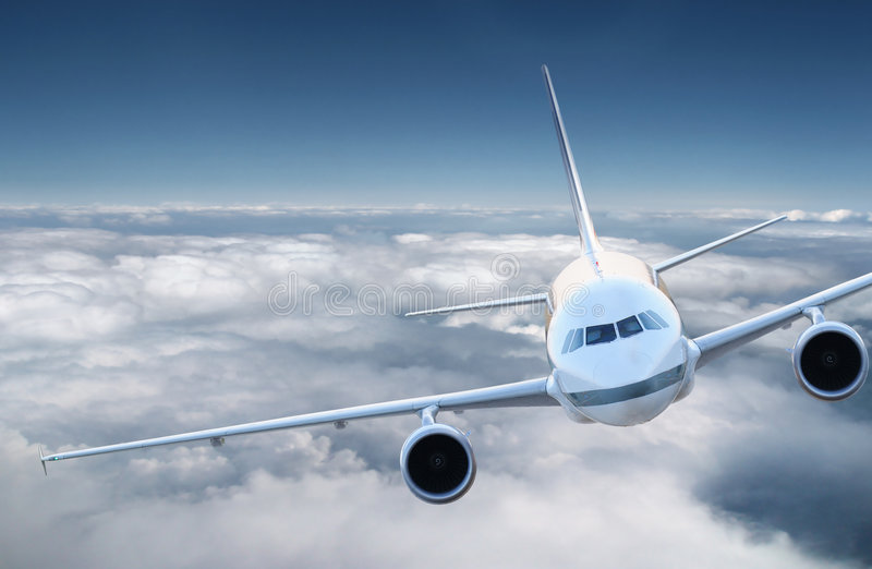 Download Aircraft in the sky stock photo. Image of plane, aircraft - 9220366