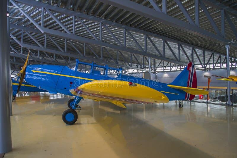Aircraft Type, Fairchild Pt-26 Royalty Free Stock Photo