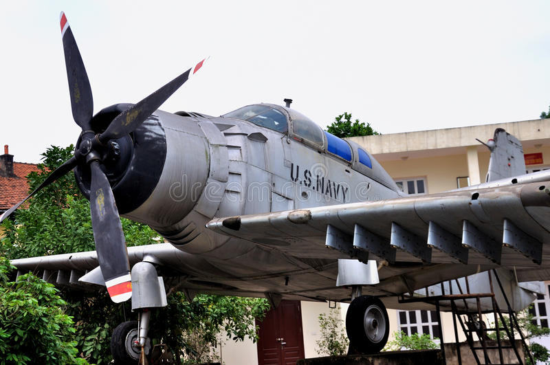 Aircraft In Vietnam Military History Museum Editorial Photo