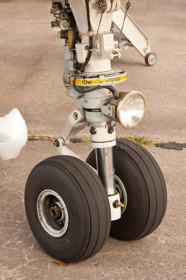 Download Aircraft wheel stock photo. Image of airline, airport - 26778854