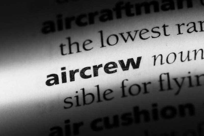 aircrew fotos de archivo libres de regalías