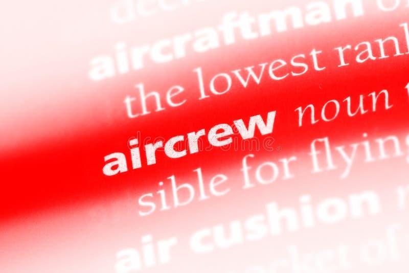 aircrew foto de archivo