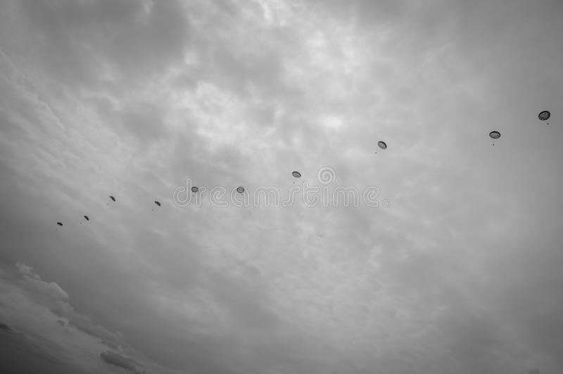 airdrop obrazy royalty free