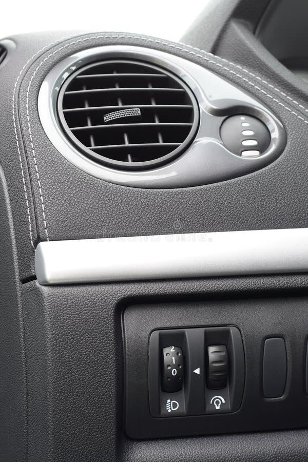 Aire acondicionado del coche fotografía de archivo libre de regalías