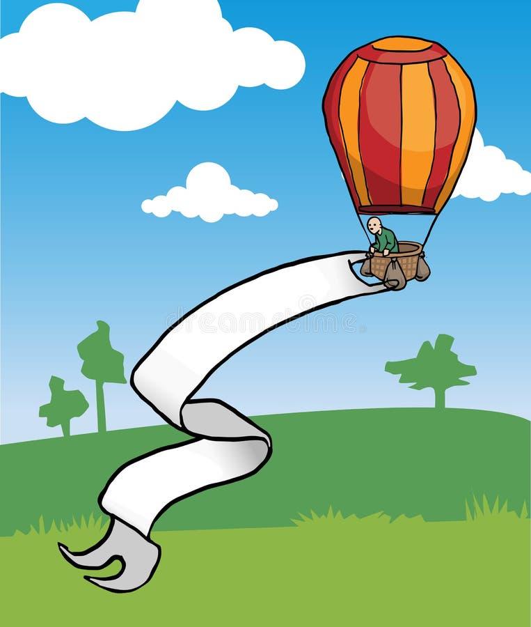 Aire caliente Baloon libre illustration