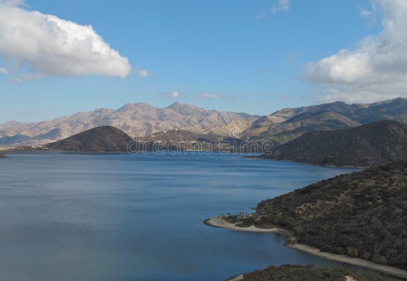 Aire de loisirs d'état de lac Silverwood, la Californie images libres de droits