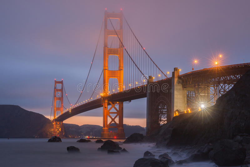 Aire de loisirs de Marshall Beach Golden Gate National, San Francisco, la Californie, Etats-Unis image stock
