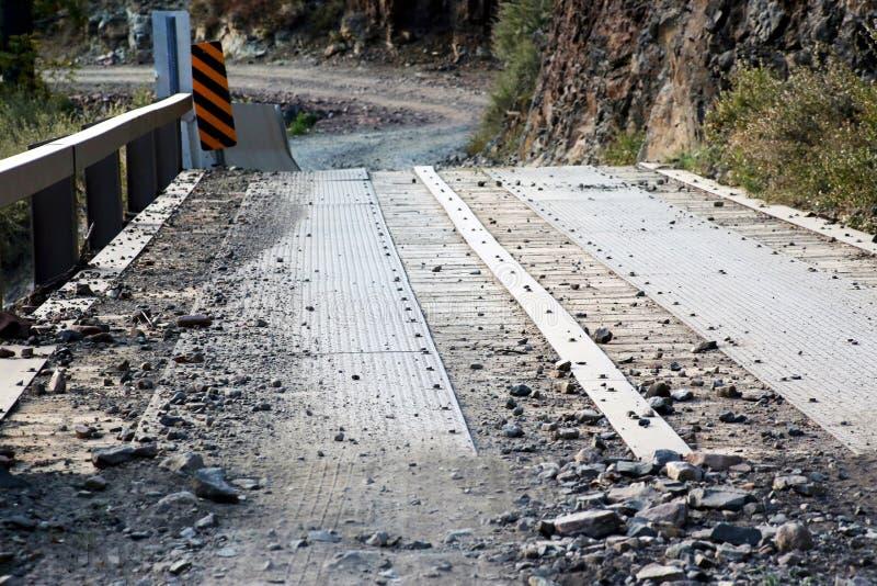 Aire de loisirs nationale de crique du ` s de Tonto Forest Road To Workman, Gila County Arizona image libre de droits