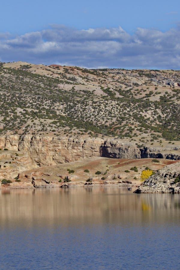 Aire de loisirs de ressortissant de canyon de Bighorn images libres de droits