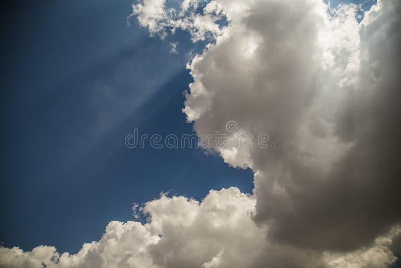 Aire del cielo fotografía de archivo