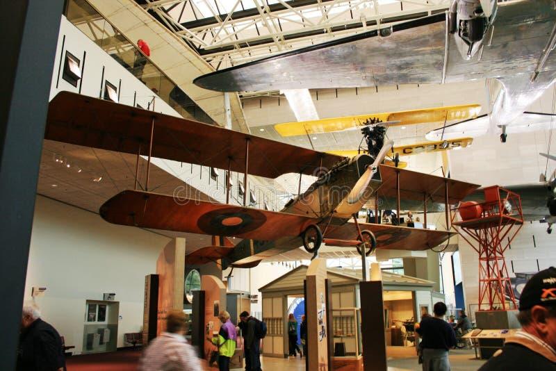 Aire nacional de Smithsonian y museo de espacio imagen de archivo libre de regalías