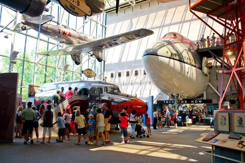 Aire y museo espacial nacionales de Smithsonian foto de archivo