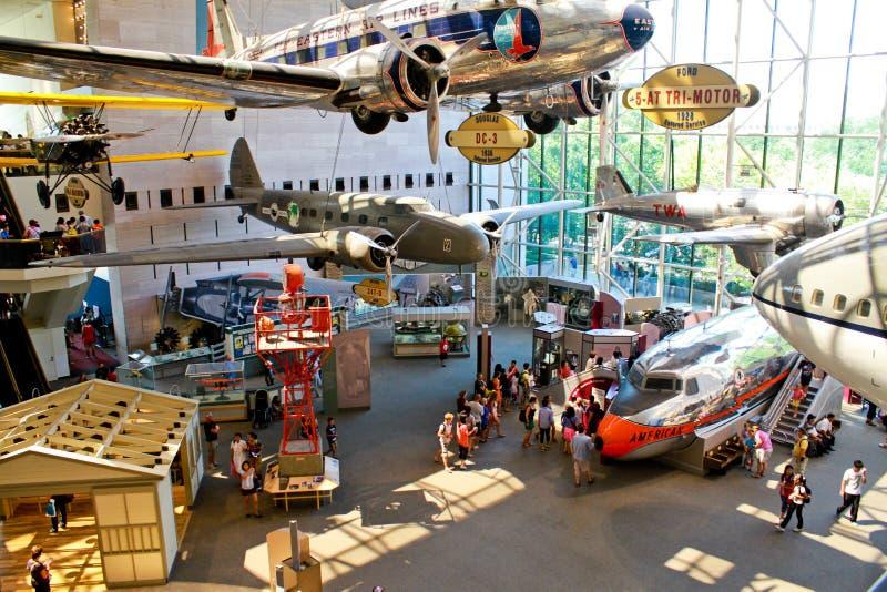 Aire y museo espacial nacionales de Smithsonian fotos de archivo