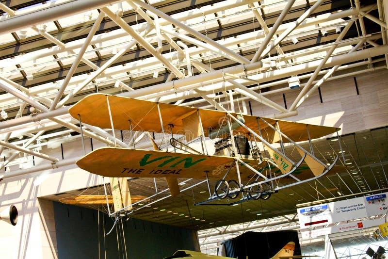 Aire y museo espacial nacionales de Smithsonian imagenes de archivo