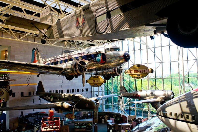 Aire y museo espacial nacionales de Smithsonian imagen de archivo libre de regalías