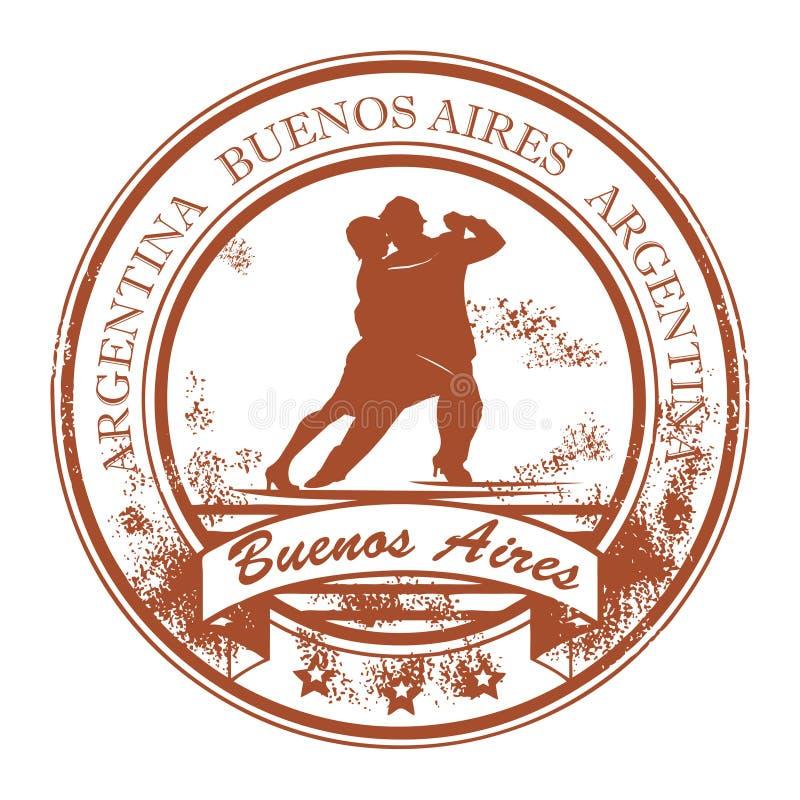 aires γραμματόσημο buenos ελεύθερη απεικόνιση δικαιώματος