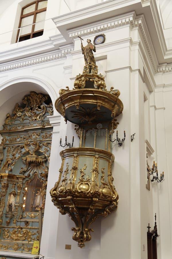 aires basilica buenos del nuestra τριχώδες senora στοκ φωτογραφία με δικαίωμα ελεύθερης χρήσης