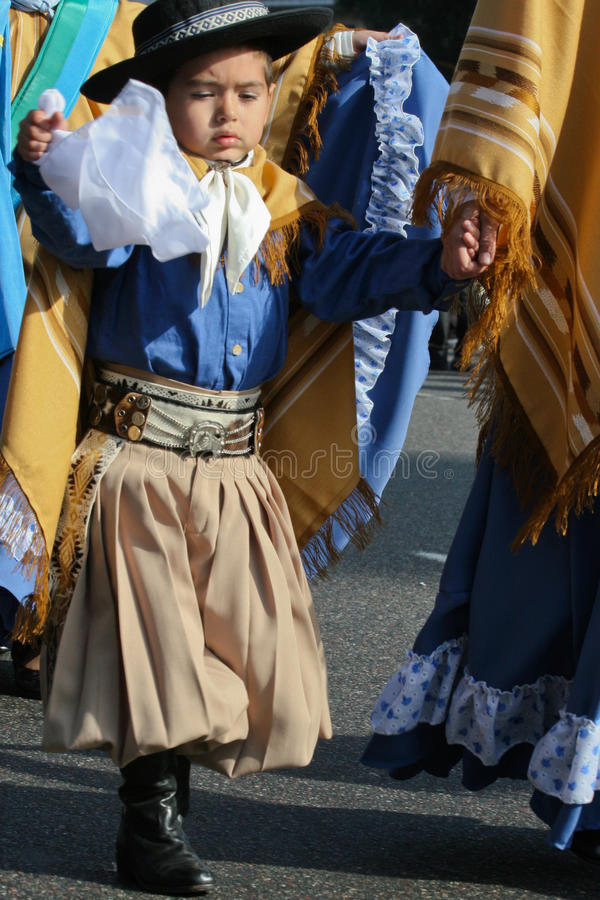 aires Buenos De Festiwal folkloru internacional fotografia royalty free