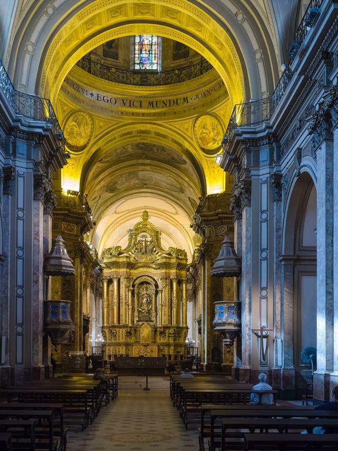 aires buenos katedry metropolita obraz royalty free