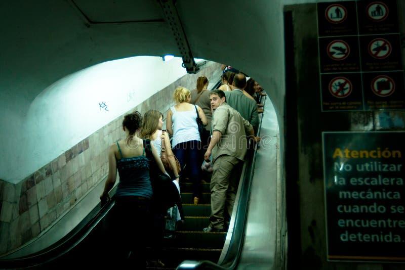 airesbuenosgångtunnel royaltyfria foton