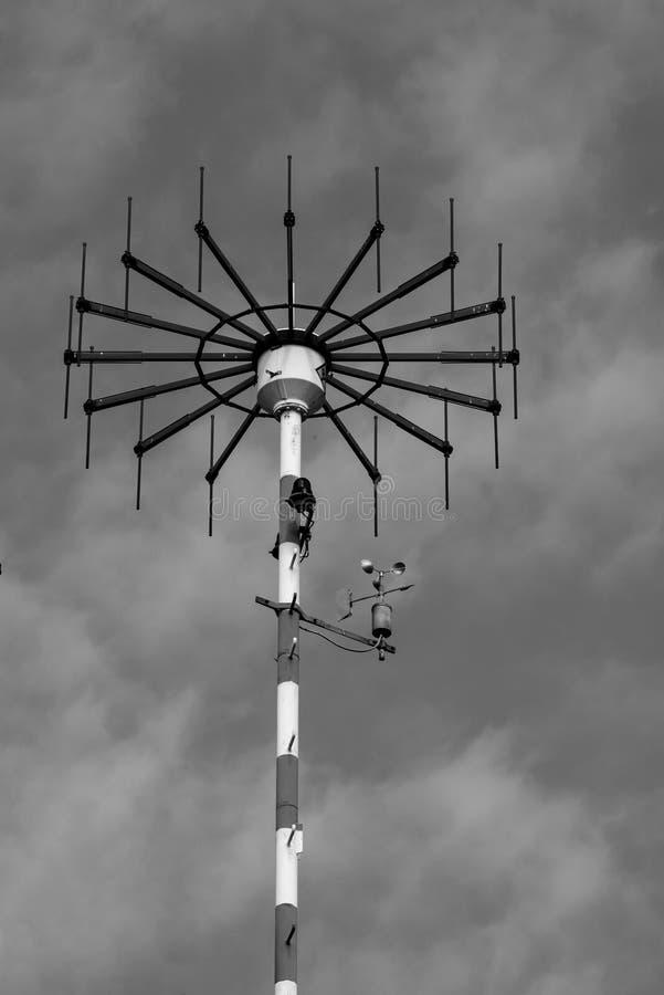 Airfield-Antenne lizenzfreie stockfotos