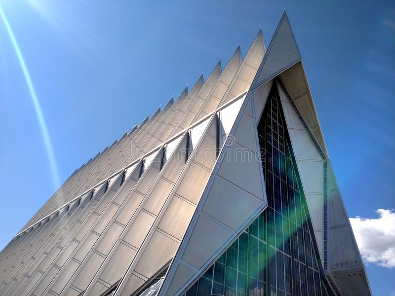 Airforce academy cadet chapel royalty free stock images