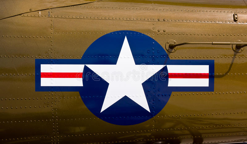 Airforce Symbol On Fighter Stock Image Image Of Stripes 19494615