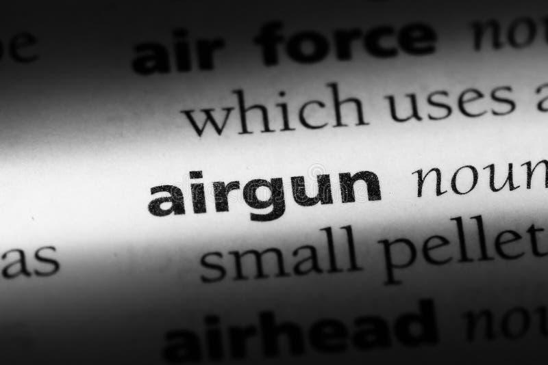 airgun royalty-vrije stock afbeeldingen