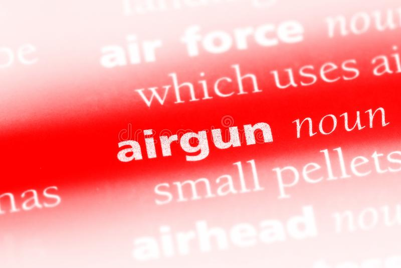 airgun royalty-vrije stock foto