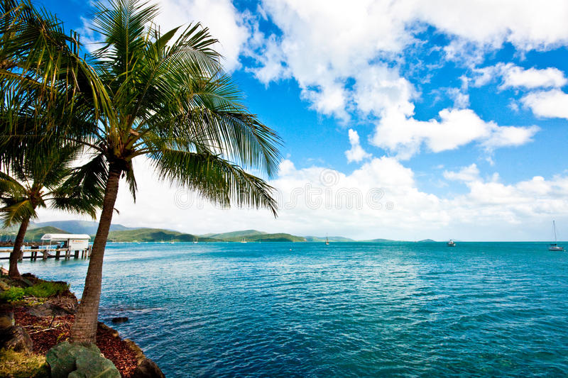 Airlie Paradise royalty free stock images