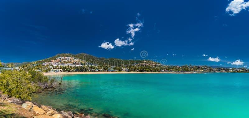 Airlie-Strand, Pfingstsonntage, Queensland Australien stockfotografie