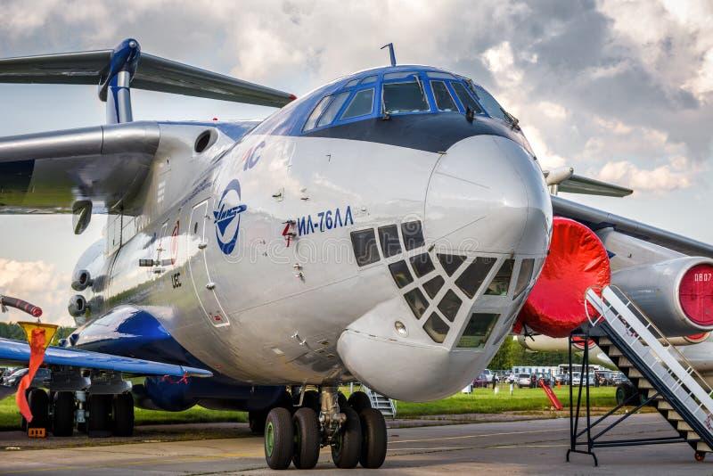 Airlifter Ilyushin Il-76 русского стратегическое стоковое изображение