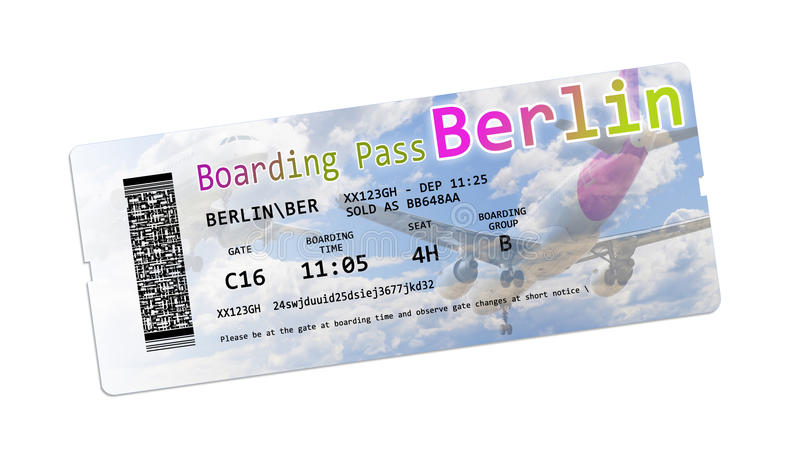 Air Berlin Boarding Pass
