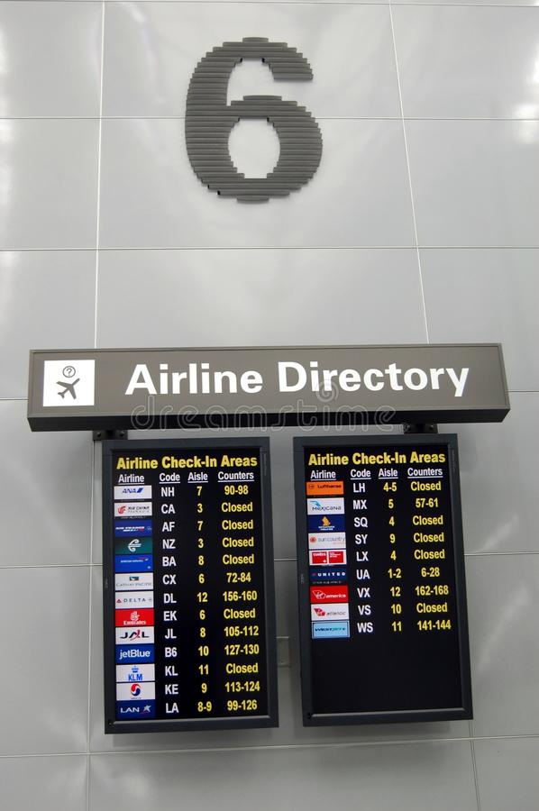 Download Airline Directory editorial image. Image of logo, board - 20354950