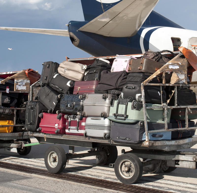 Download Airline Luggage Royalty Free Stock Photography - Image: 14159157