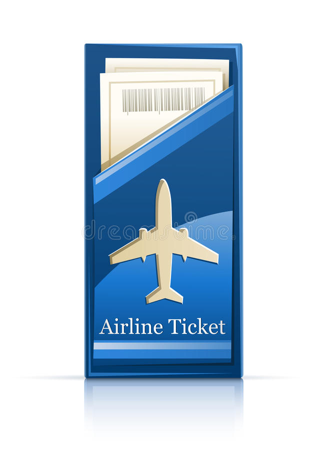 Download Airline ticket stock vector. Image of background, sample - 19472497
