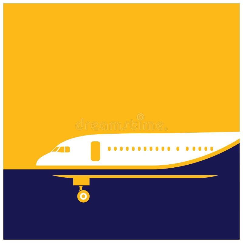airliner ilustração do vetor