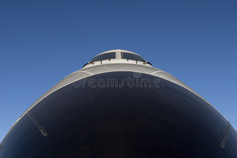 Airliner Nose Royalty Free Stock Photos