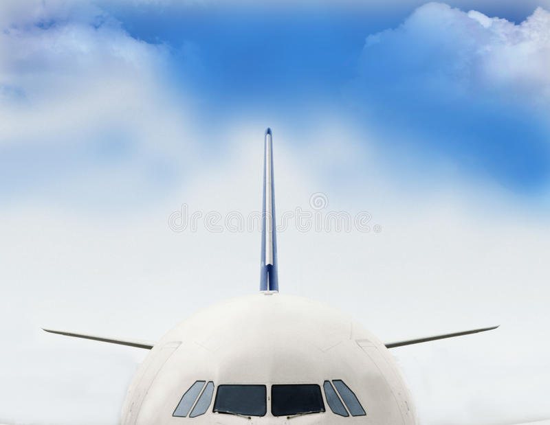 Airlines stock image