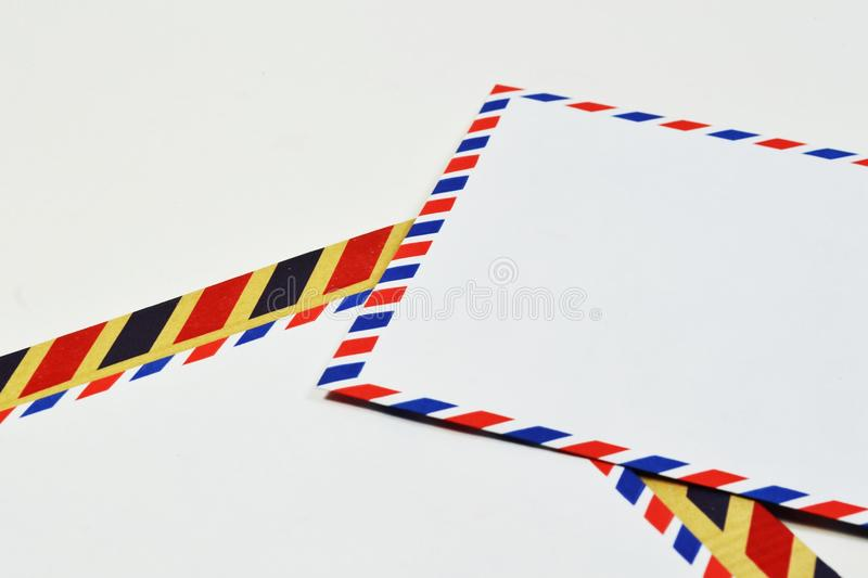 Download Airmail envelope stock illustration. Image of color, mail - 26949772