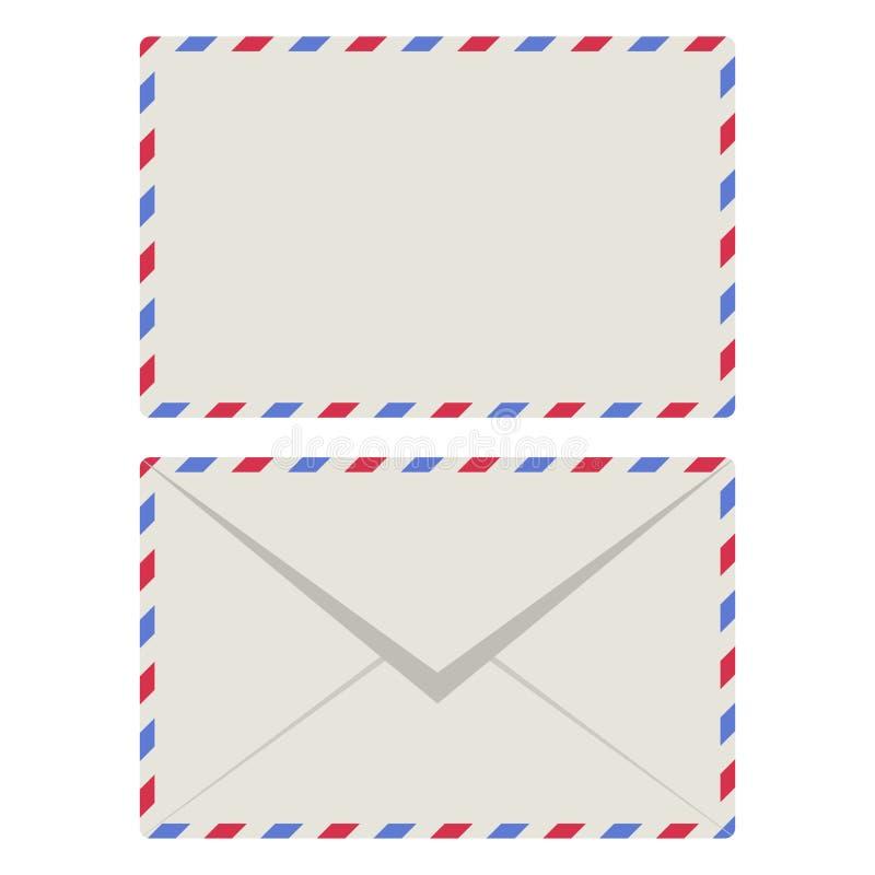Airmail Envelopes Illustration vector illustration