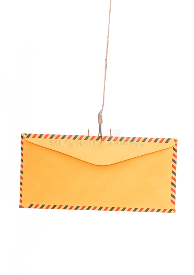 Airmail Phishing royalty free stock photos