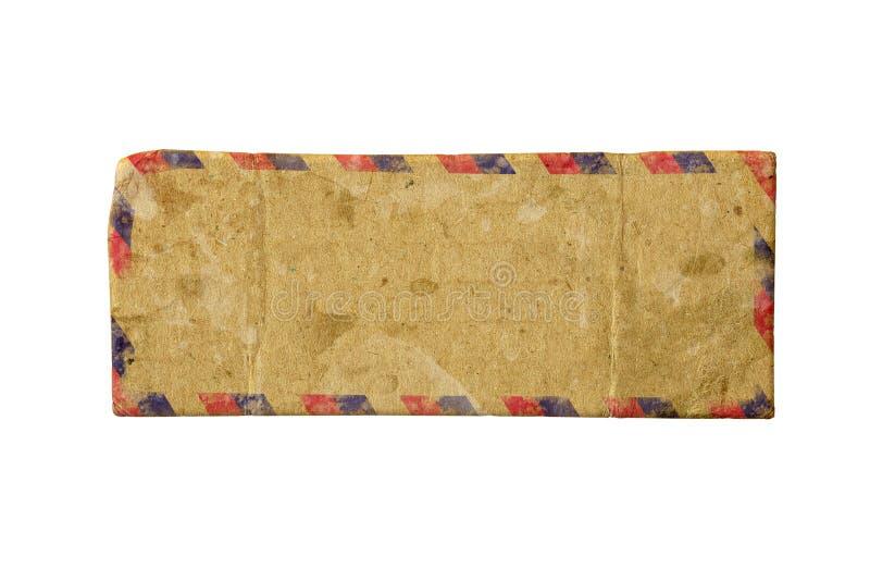 Airmail stara koperta royalty ilustracja
