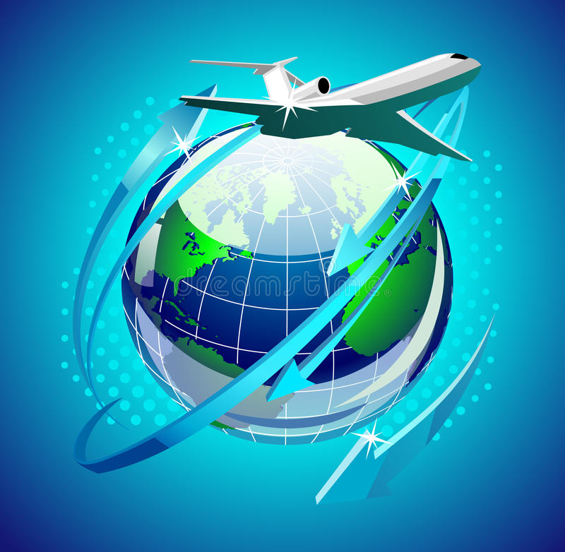 Airplain vector illustration