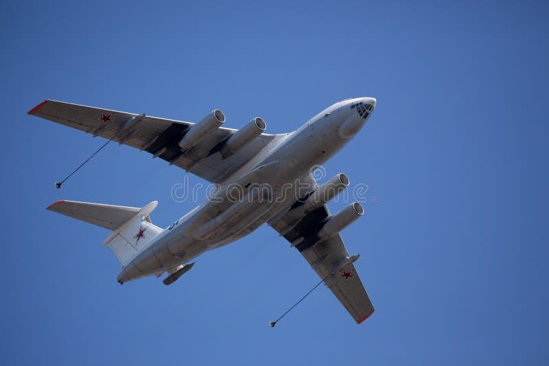 Airplains militari russi, bombardieri, AWACS fotografia stock
