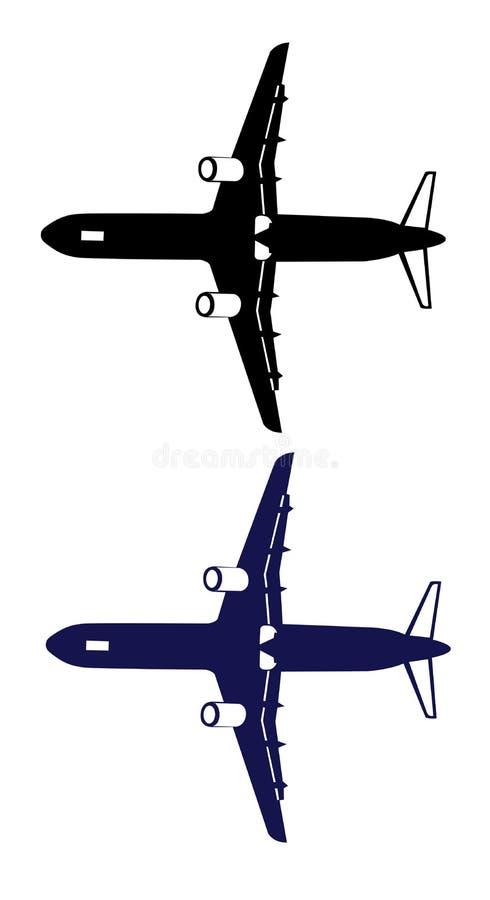 Download Airplane stock illustration. Illustration of jetliner - 13812770